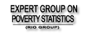 EXPERT GROUP ON POVERTY STATISTICS (RIO GROUP)