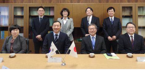Meeting with the Director General of the Statistics Bureau of Japan