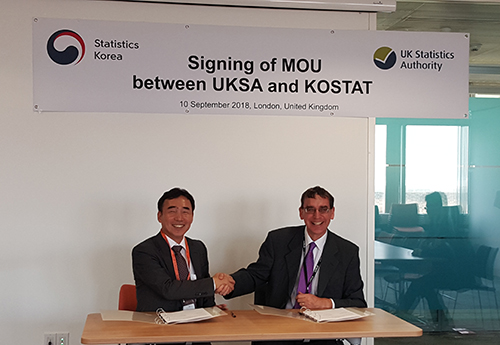 Mr.CHOI Sungwook, Vice Commissioner of Statistics Korea