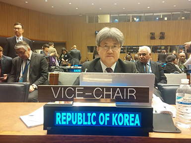 Commissioner of KOSTAT attends to the 47th UNSC