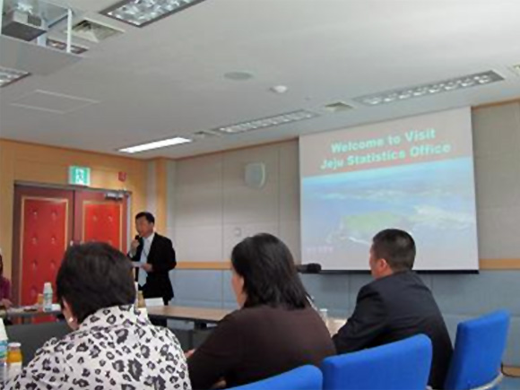 Presentation by Director of Jeju Office