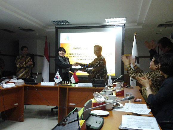 ToR Signing on Korea-Indonesia technical cooperation