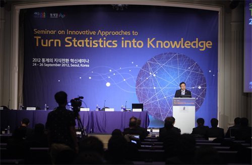 The 2012 Seminar on Innovative Approaches to Turn Statistics into Knowledge