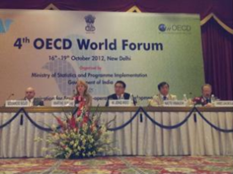 Statistics Korea Participates in the Fourth OECD World Forum