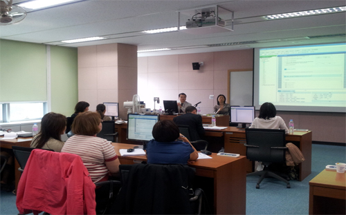 KAZSTAT Project - The First Training in Korea